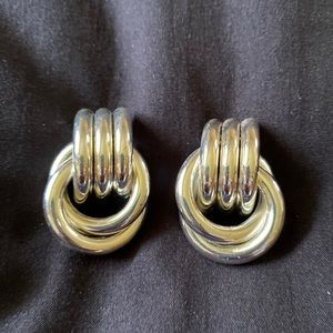 Vintage Givenchy silver Earrings